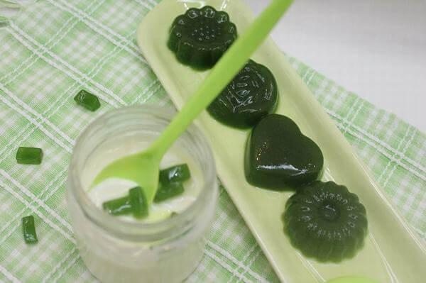 Cách làm thạch vị trà xanh