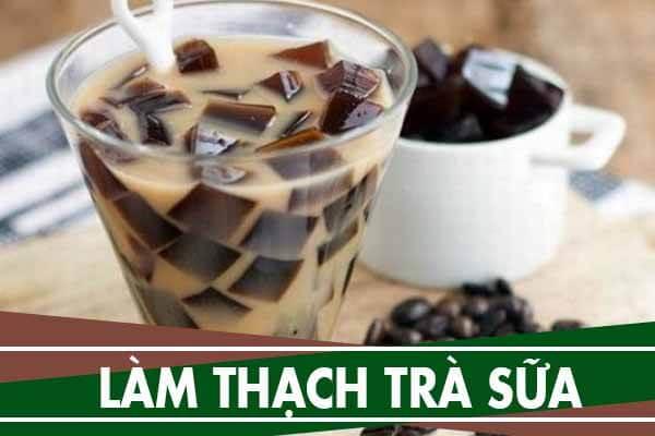 Cách làm thạch trà sữa, 8 loại thạch trái cây uống trà sữa
