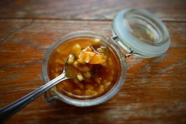 Hoàn thành tỏi ngâm mật ong rất đơn giản, dễ làm