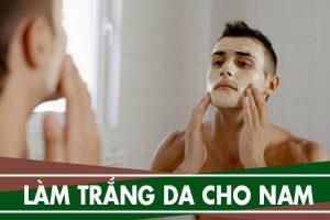 Cách làm trắng da cho nam đơn giản tại nhà