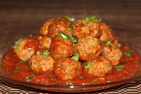 Cách làm xíu mại sốt cà chua ăn bánh mì ngon và đơn giản