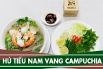 Cách nấu hủ tiếu nam vang Campuchia cực ngon