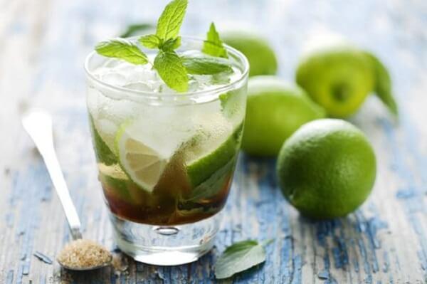 Nước chanh trà xanh - nước chanh