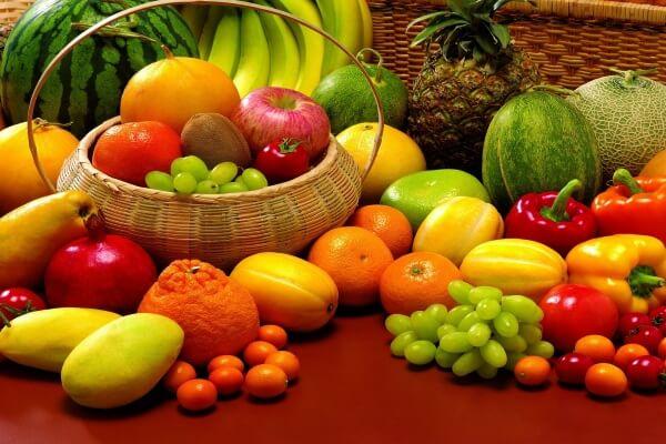 Ngày thứ nhất ăn trái cây tùy thích