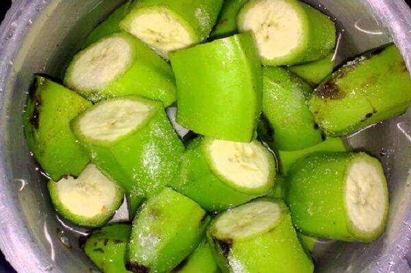 Chuối tiêu xanh có thể chữa đau dạ dày