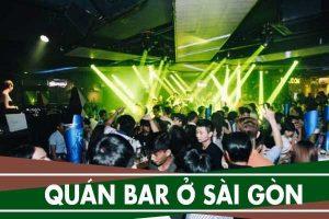 Địa chỉ các quán bar giá rẻ ở Sài Gòn, quán bar, pub nhạc nhẹ