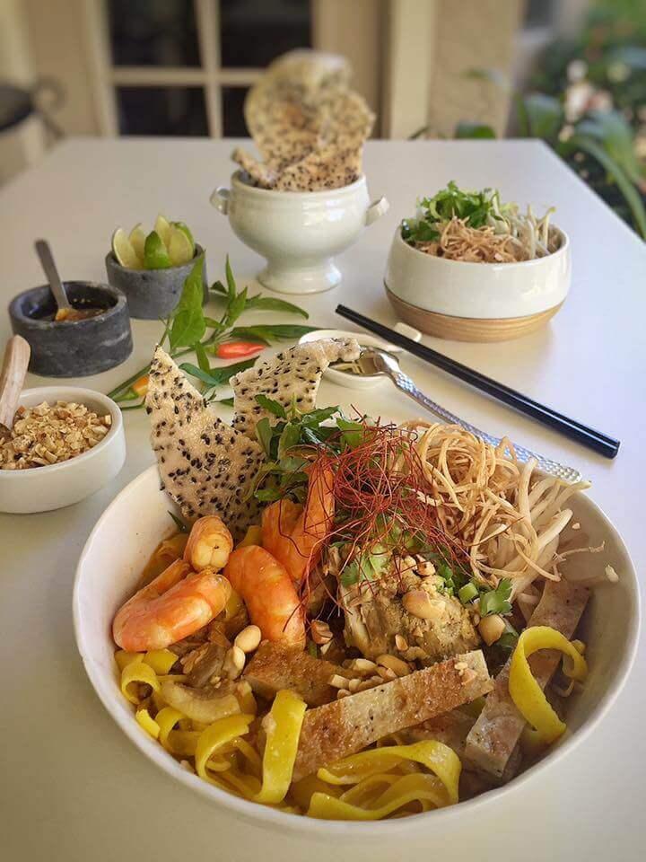 Giới thiệu về món mì Quảng Việt Nam