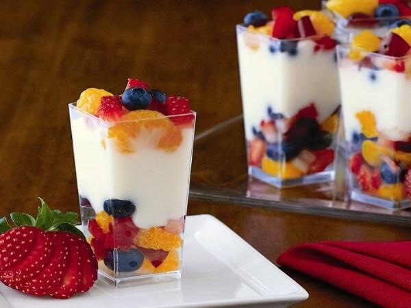 Phô mai và trái cây không làm bạn béo lên lại còn giúp giữ dáng và da khỏe đẹp