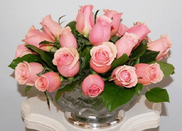 Mẫu lẵng hoa sinh nhật đẹp nhất thế giới