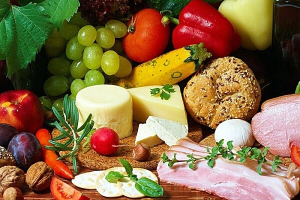 có đủ 4 nhóm thành phần dinh dưỡng