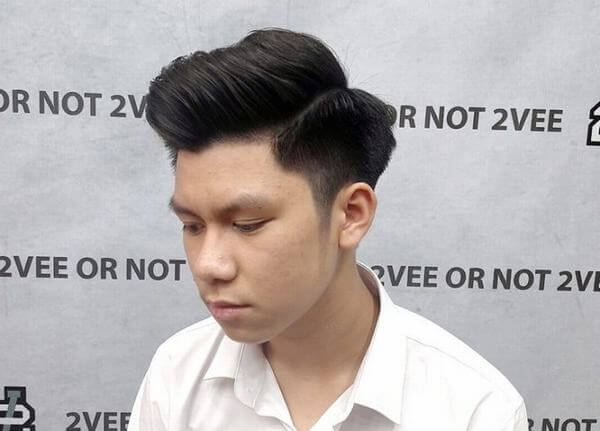 Kiểu tóc này không chỉ dành riêng cho nam giới Châu u, mà là cả nam giới Châu Á