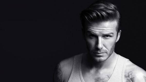 David Beckham với kiểu tóc Quiff của mình