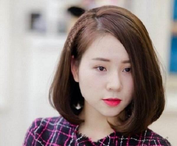 Kiểu tóc ngắn đẹp cho bạn nữ mặt tròn thu hút mọi ánh nhìn-hình số-5