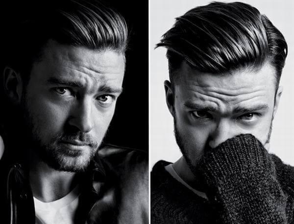 Kiểu tóc Pompadour của Justin Timberlake
