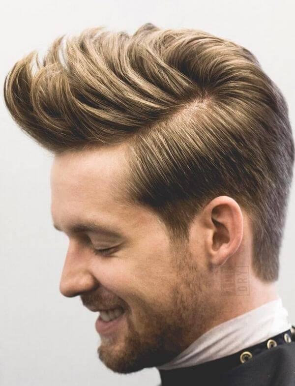 Kiểu tóc Pompadour ngày nay vẫn mang âm hưởng ngày xưa