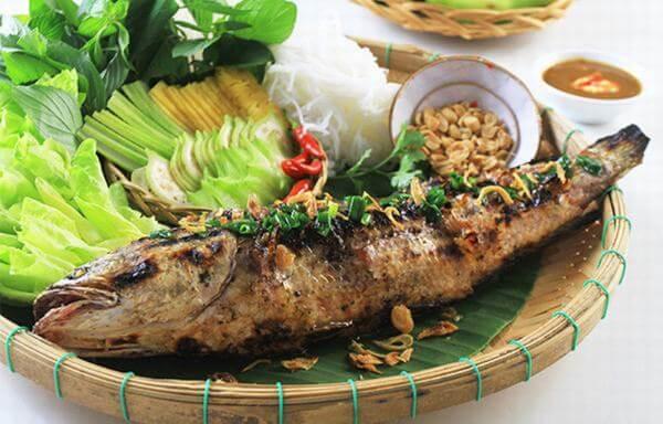 Cá Lóc Nướng Trui
