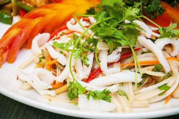mực tươi làm món gì ngon với thực đơn 5 món ăn, món nhậu từ mực đơn giản