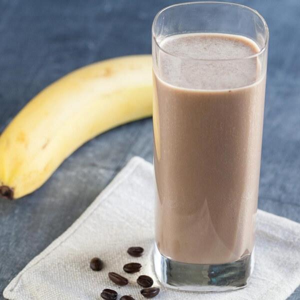 Ice shake chuối cacao cà phê
