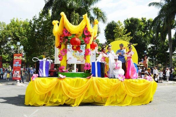 Hoạt động đón Trung thu tại Đầm Sen - Những địa điểm vui chơi trung thu ở Sài Gòn Tphcm