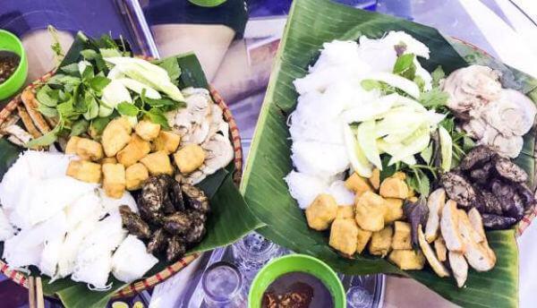 Quán bún đậu mắm tôm Nam Định – Lĩnh Nam