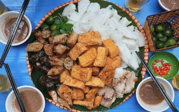 Quán bún đậu măm tôm Chị Hằng – Thụy Khuê