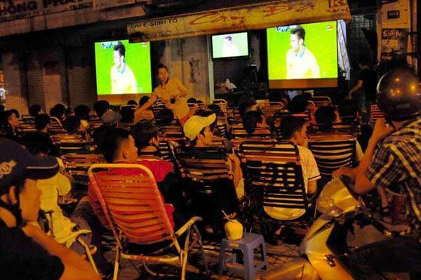 Top những quán Cafe xem bóng đá mà Mâm Cơm Việt đã tuyển lọc