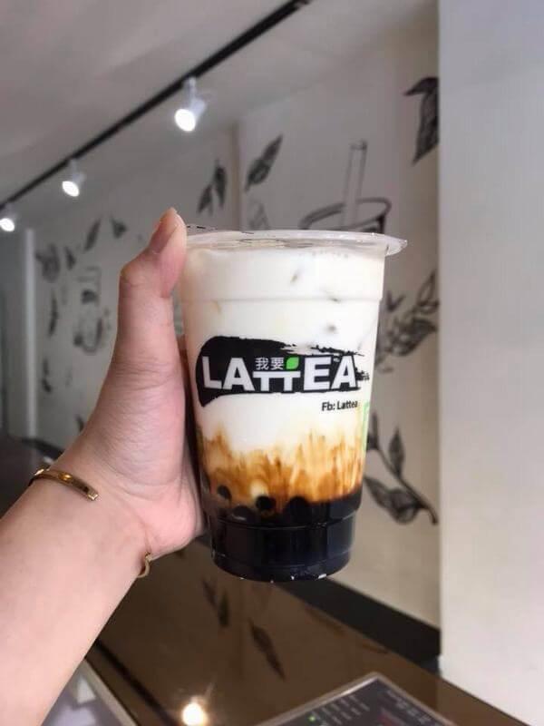 Sữa tươi trân châu đường đen Lattea
