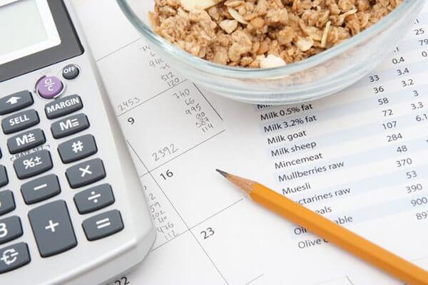 Bảng tính Calo cho các loại thức ăn, thực phẩm từng ngày cho bạn giảm cân