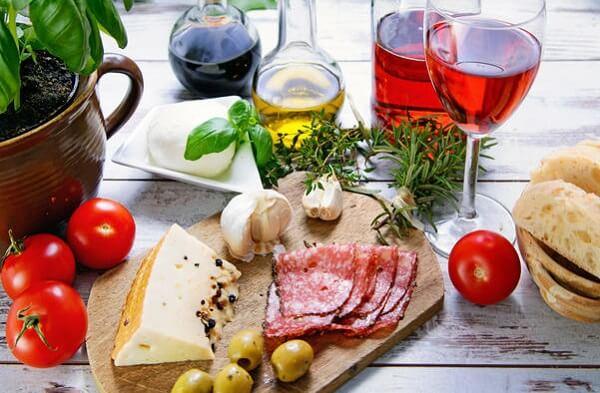Chế độ ăn Địa Trung Hải tập trung vào những điểm chính