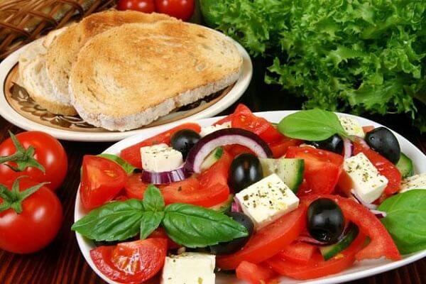 Một số điều cần lưu ý vềthực đơn ăn kiêng Địa Trung Hải