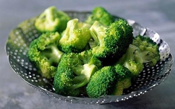 Luôn phải xuất hiện rau xanh trong các bữa ăn