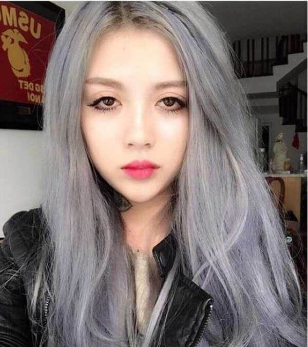 bạn cần phải tẩy tóc bằng nhiều Oxy thì màu mới có thể lên chuẩn và bám màu lâu