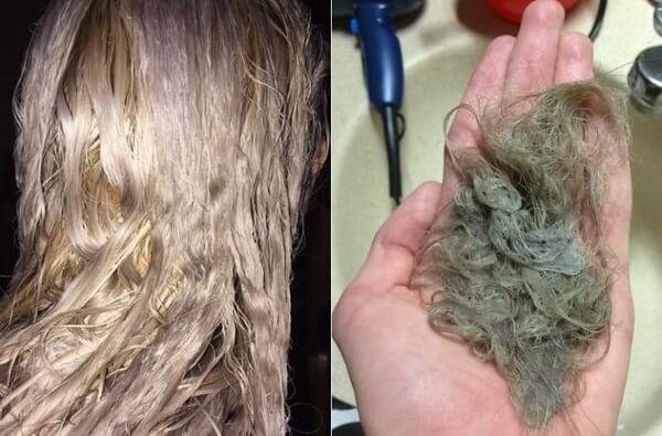 Đừng nhắm mắt lựa chọn tẩy tóc ở một hiệu tóc bất kì nào đó