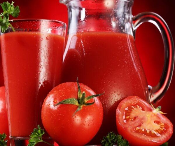 Nước ép cà chua ngon miệng