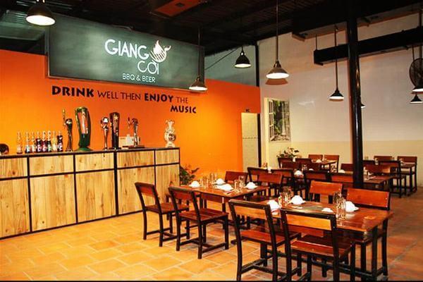 Giang Còi BBQ & Beer -Phạm Ngũ Lão, phường 3, quận Gò Vấp