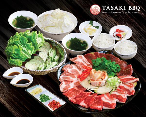 Tasaki BBQ -Tầng B1 Vincom Quang Trung