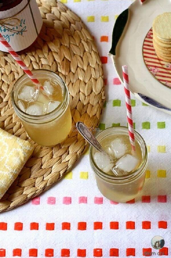 trà hoa cúc bởi nó chứa chất chống vấn đề về viêm và oxy hóa cao.