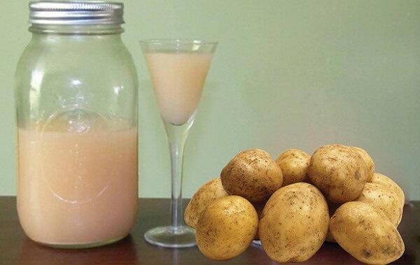 Sử dụng nước ép khoai tây